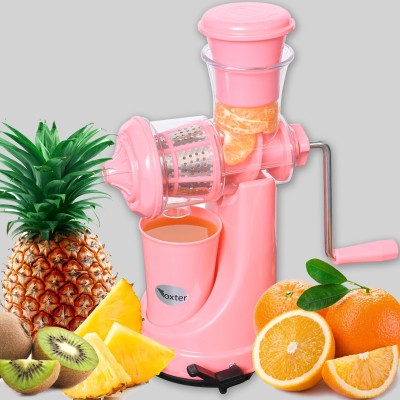 Foxter Plastic Hand Juicer(Pink Pack of 1)