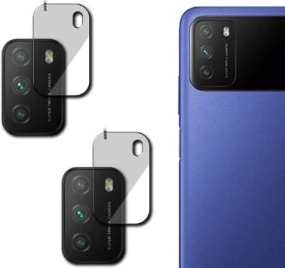 hirdesh Back Camera Lens Glass Protector for POCO M3(Pack of: 2)
