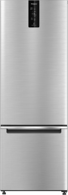 Whirlpool 325 L Frost Free Double Door Bottom Mount 2 Star Convertible Refrigerator(Omega Steel, IFPRO BM INV CNV 340 OMEGA STEEL (2S)-N)