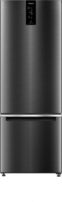 Whirlpool 325 L Frost Free Double Door Bottom Mount 2 Star Convertible Refrigerator(Steel Onyx, IFPRO BM INV CNV 340 STEEL ONYX (2S)-N)