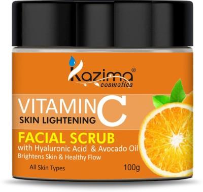 KAZIMA VITAMIN C Face Scrub (100g) Scrub(100 g)