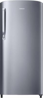 SAMSUNG 192 L Direct Cool Single Door 2 Star Refrigerator(Gray Silver, RR19A241BGS/NL)