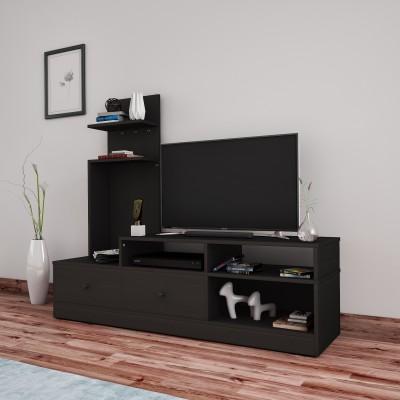 Flipkart Perfect Homes Sirena Engineered Wood TV Entertainment Unit(Finish Color - Espresso,...