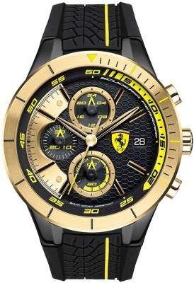 SCUDERIA FERRARI 0830295 Red Rev Evo Analog Watch   For Men SCUDERIA FERRARI Wrist Watches