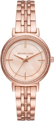 MICHAEL KORS MK3643 CINTHIA Analog Watch - For Women