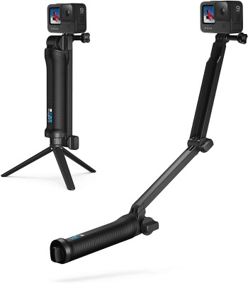 A CONNECT Z gopro Tripod Black, Supports Up to 200 g A CONNECT Z Tripods