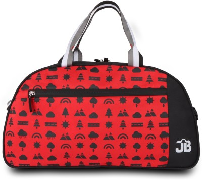 JustBags Rider 8 Travel Duffel Bag Red, Black