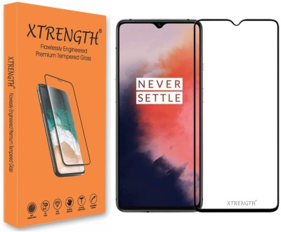 XTRENGTH Edge To Edge Tempered Glass for OnePlus 7T(Pack of 1)