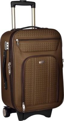 TREKKER TTB CRETA20 BR Expandable Cabin Luggage   20 inch TREKKER Suitcases