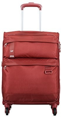 SKYBAGS STSKYWH59RED Expandable Check in Luggage   23 inch SKYBAGS Suitcases
