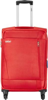 Safari SAVAGE 4W 57 Red Expandable Cabin Luggage   22 inch Safari Suitcases