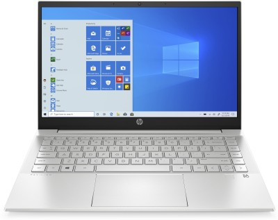 HP Pavilion Core i5 11th Gen - (16 GB/512 GB SSD/Windows 10 Home) 14-dv0054TU Thin and Light Laptop(14 inch, Natural Silver, 1.41 kg, With MS Office)