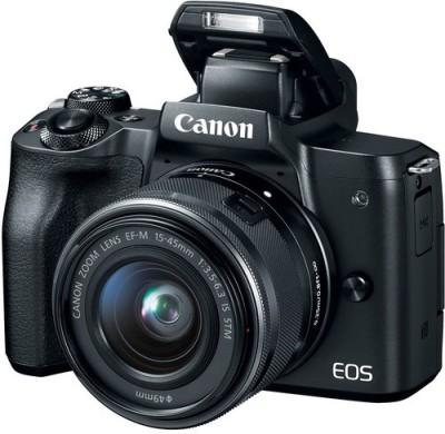 Canon EOS M EOS M50 15-45mm lens NO MEMORY CARD NO BAG Mirrorless Camera EOS M50 15-45mm lens NO MEMORY CARD NO BAG(Black)