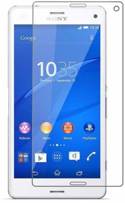 SHREEM TEMPERED Edge To Edge Tempered Glass for Sony Xperia Z3 Compact(Pack of 1)