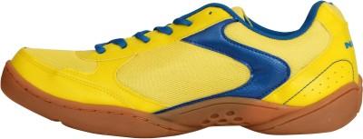 NIVIA Flash Badminton Shoes For Men Blue, Yellow NIVIA Sports Shoes