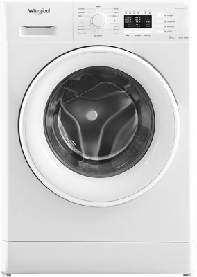 Whirlpool 7 kg Fully Automatic Front Load with In-built Heater White(FRESH CARE 7010 (I))