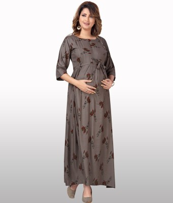 cee18 Women Gown Brown Dress