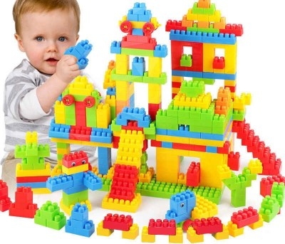 BOZICA Educational Toys Bricks Toys Sets Building Blocks Game Puzzles Block Set for Kids and Children Baby Game Toy Gift For Child Interconnecting Blocks(100 Pieces)
