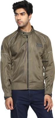 ROYAL ENFIELD RRGJKM000025 Riding Protective Jacket(Brown, S Regular)
