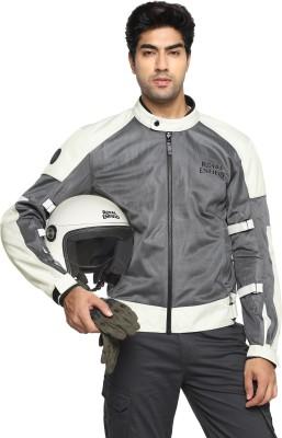 ROYAL ENFIELD RRGJKM000023 Riding Protective Jacket(Grey, XXL Regular)