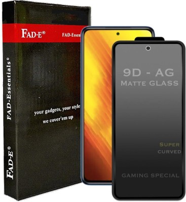FAD-E Edge To Edge Tempered Glass for POCO X3(Pack of 1)