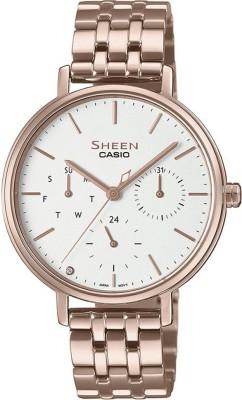 CASIO SH232 (SHE-4541CG-7AUDF) Sheen Analog Watch - For Women