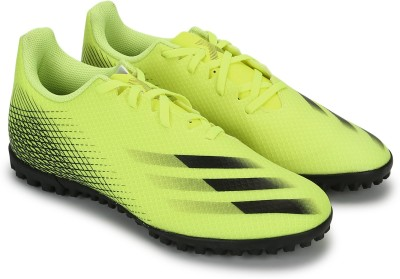 ADIDAS X Ghosted.4 Tf Football Shoes For Men Yellow ADIDAS Sports Shoes