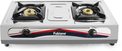 Fabiano Stainless Steel Manual Gas Stove(2 Burners)