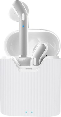 PTron Basspods 481 Bluetooth Headset(White, True Wireless)