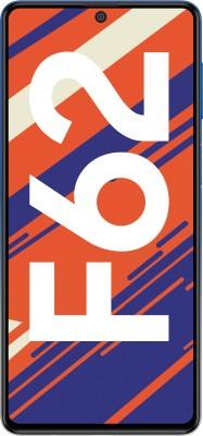 SAMSUNG Galaxy F62 (Laser Blue, 128 GB)(8 GB RAM)