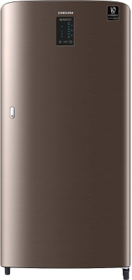 Samsung 198 L Direct Cool Single Door 4 Star Refrigerator(LUXE BROWN, RR21A2C2XDX/HL)