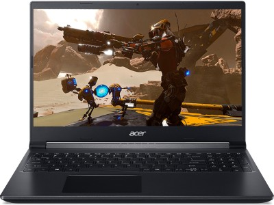acer Aspire 7 Ryzen 5 Hexa Core 5500U - (8 GB/512 GB SSD/Windows 10 Home/4 GB Graphics/NVIDIA GeForce GTX 1650) A715-42G Gaming Laptop(15.6 inch, Black, 2.15 kg)