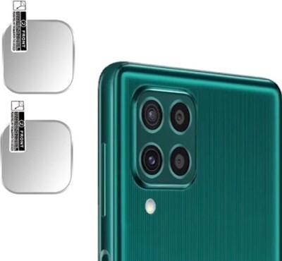 HIRDESH Back Camera Lens Glass Protector for Samsung Galaxy F62(Pack of: 2)