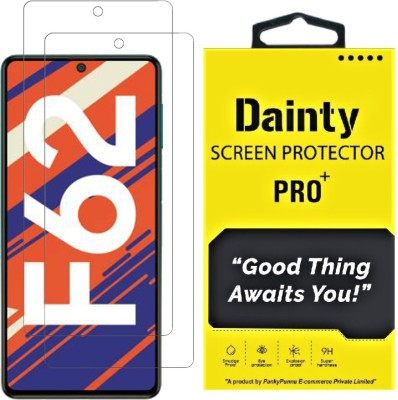 Dainty TECH Tempered Glass Guard for Samsung Galaxy F62, Samsung Galaxy M51, Samsung Galaxy A71, Samsung Galaxy Note 10 Lite(Pack of 2)