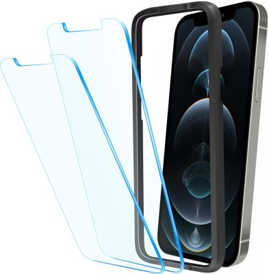 Affix Tempered Glass Guard for Apple iPhone 12 Pro Max 6.7 Inch(Pack of 2)