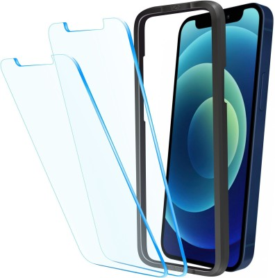 Affix Tempered Glass Guard for Apple iPhone 12 6.1 Inch(Pack of 2)