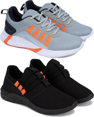 Oricum Oricum casual sneakers and loafers shoes For Mens Combo(MR)-1720-1622 ( Multicolor-Pack of 2) Running Shoes For Men(Multicolor)