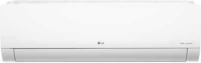 LG 1.5 Ton 5 Star Split Dual Inverter AC  - White(MS-Q18YNZA, Copper Condenser)