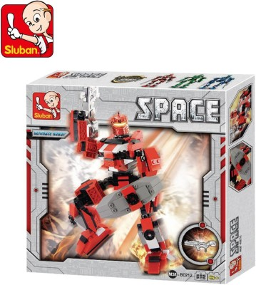 Sluban Space Fighter Hephaestus Building Block Toys for Kids Multicolor Sluban Blocks   Building Sets