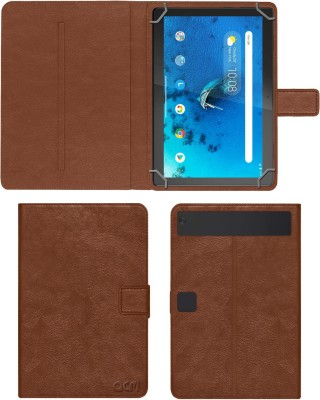 ACM Flip Cover for lenovo tab m10 hd 10.1 inch tb-x505x(Gold, Cases with Holder)