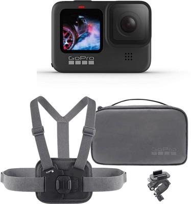 GoPro Hero 9 Black Hero 9 Sports kit Bundle Sports and Action Camera(Black, 23.6 MP)