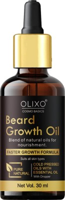 OLIXO Bread Growth Oil With Natural Ingredients For Men Fast Bread Growth Hair Oil (30 ml)