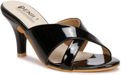 Denill Women Black Heels