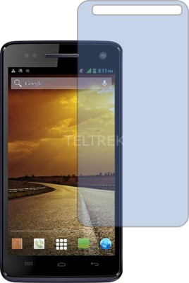 TELTREK Tempered Glass Guard for MICROMAX CANVAS 2 COLOURS A120 (Antiblue Light, Flexible)(Pack of 1)
