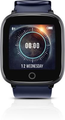 Syska SW100 Smartwatch(Blue Strap, Free Size)