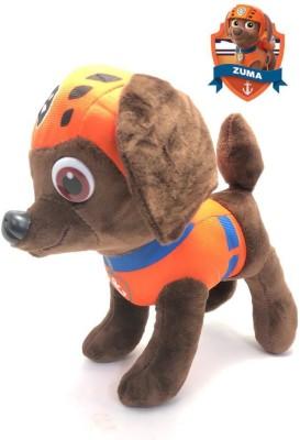 Mubco Pup Buddies Zuma Dog Stuffed Animal Cartoon Characters Soft Plush Toy 9\ Brown Mubco Soft Toys