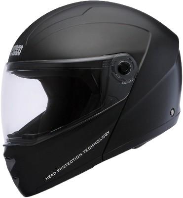 Studds Ninja Elite Motorsports Helmet(BLACK WITH CARBON CENTER STRIP)