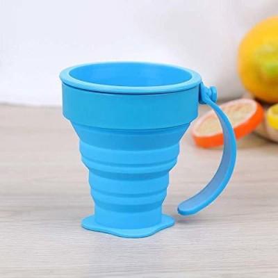 smile4u Collapsible Foldable SD=54D Leak Proof Serve Ware Tea Coffee Cup Plastic Coffee Mug(250 ml)