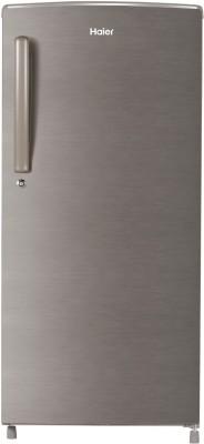Haier 192 L Direct Cool Single Door 2 Star Refrigerator(Brushline silver, HED-191TDS)