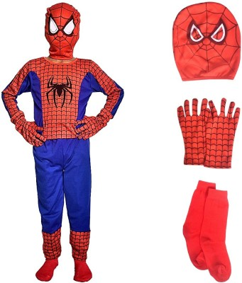 Culture Creation Spiderman Kids Costume Wear